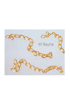 www.sayila.com - Extension chain ± 67mm (chains 5x3mm)