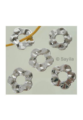 www.sayila.nl - Metalen hanger/tussenzetsel bloem 18mm