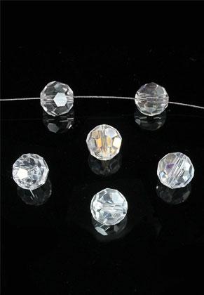 www.sayila.nl - Facetkralen kristal glas rond ± 10mm