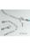 www.sayila.nl - Verlengketting voor veter ± 88mm incl. 12mm sluiting, klemmetje ± 10x4,5mm, schakel ± 6x3mm