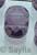 www.sayila.es - Cuenta de vidrio oval con facetas y 2 huecos ± 15x11x6mm
