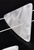 www.sayila.nl - Kunststof kraal tussenzetsel driehoek parelmoer-look ± 27x25mm