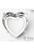 www.sayila.nl - Brass opnaai/rijgkastje hartje (messing) rhodium plated ± 28mm voor similisteen hartje ± 27mm (geschikt voor 28815, 28816, 28817 en Swarovski 4827 similisteen)