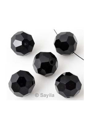 www.sayila.nl - Facetkralen kristal glas rond ± 14mm