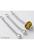 www.sayila.nl - Metalen hanger/bedel ± 57x7mm (gat ± 2mm) geschikt voor groot-gat-style kralen en kralen met een groot gat