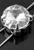 www.sayila-perlen.de - Metall Perle Aufreihfassung rund mit Rivoli Stein ± 8x6mm (Loch ± 1mm)