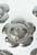www.sayila.nl - Metalen hanger/tussenzetsel bloem met 3 gaten en 1 oog ± 48mm (gat ± 2mm, oog ± 2,5mm)