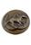 www.sayila.nl - Metalen DoubleBeads EasyButton/drukknoop paard en hoefijzers ± 18x7mm (geschikt voor EasyButton sieraden maat: L)