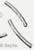 www.sayila.nl - Metalen kraal, buisje bewerkt ± 25x3mm (gat ± 2mm)