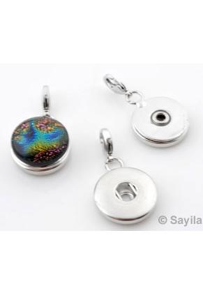 www.sayila.com - Brass DoubleBeads EasyButton pendant/charm ± 35x19mm (suitable for EasyButton size: L)
