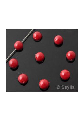 www.sayila.nl - Parelmoer parel rond ± 8mm (gat ± 1mm)