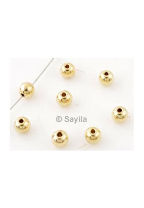 www.sayila.nl - Metalen kraal rond ± 4mm (gat ± 1,5mm)