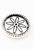 www.sayila.nl - Metalen DoubleBeads EasyButton/drukknoop bloemetje ± 17x11mm (geschikt voor EasyButton sieraden maat: L)