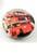 www.sayila.es - DoubleBeads EasyButton/botone de presión de metal, con piedra adhesiva de vidrio Autobús de dos pisos Británico ± 18x10mm (apropiado por joyería EasyButton talla: L)