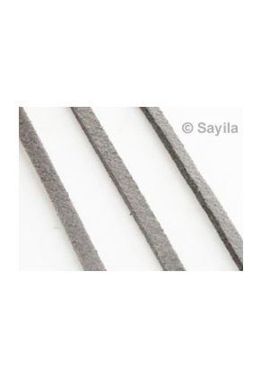www.sayila.com - Imitation suede lace ± 95cm, 2x1mm