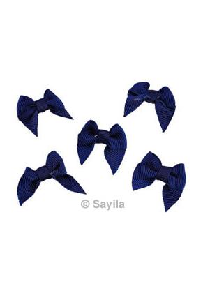 www.sayila-perlen.de - Stoffen Application Schleife, zum kleben, nähen etc. ± 25x21mm