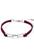 www.sayila.fr - Bracelet de daim imitation, avec fermoir de métal et entre-deux de métal papillon, à longueur réglable ± 18-24cmx10,5mm, (largeur intérieure ± 19-22,5cm)