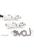www.sayila.es - Colgante/conector de metal, 'Love' ± 40,5x15,5mm (ojos ± 2,5mm)