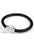 www.sayila.nl - Armband van leer met magnetische sluiting met polymeerklei en strass ± 20x1,6cm (binnenmaat ± 17,5cm) (waarschuwing: niet voor mensen met een pacemaker)