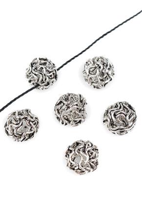 www.sayila.nl - Metalen kraal rond 8mm