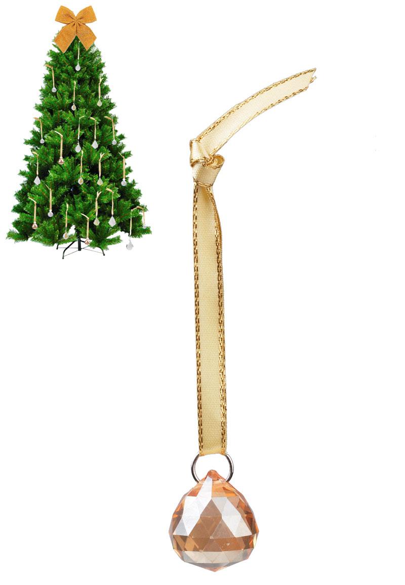 glas anh nger dekoration weihnachten 13x2cm. Black Bedroom Furniture Sets. Home Design Ideas
