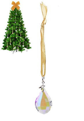 www.sayila.com - Glass pendant/Decorative, Christmas 16x2,4cm