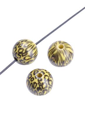 www.sayila-perlen.de - Kunststoff perle rund 18x17mm