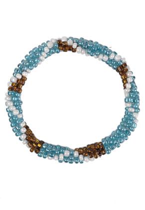www.sayila-perlen.de - Armband, Rocailles, 21cm