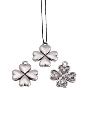 www.sayila.com - Metal pendant four-leaf clover 21x17,5mm