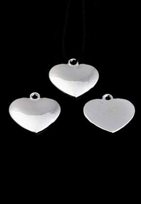 www.sayila.com - Metal pendant heart 18x17,5mm