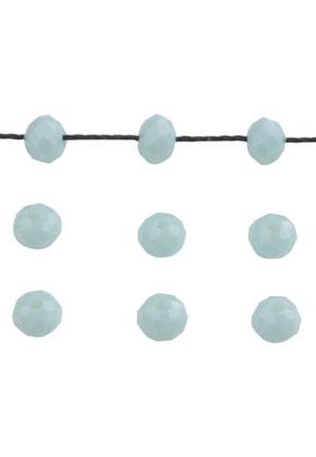 www.sayila-perlen.de - BudgetPack Glasperle Rondelle 4x3mm
