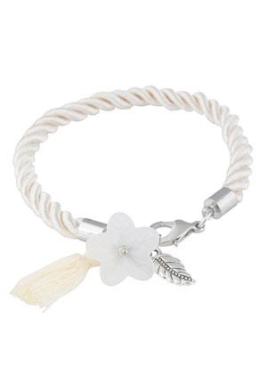 www.sayila.nl - Imitatie zijden armband 19,5cm