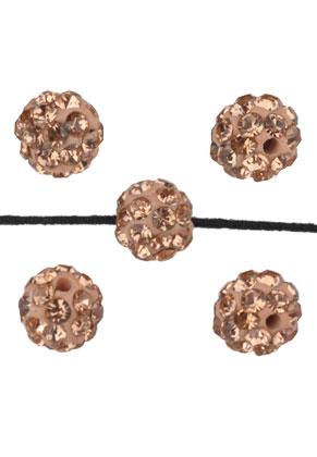 www.sayila.be - Polymeerklei kraal rond 6mm
