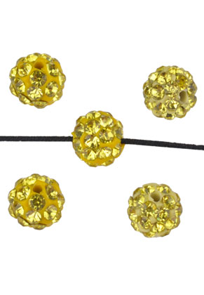 www.sayila-perlen.de - Polymertonperle (aus Knete) rund 6mm