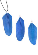www.sayila.com - Pendant feather 7-7,5x2cm - 36920