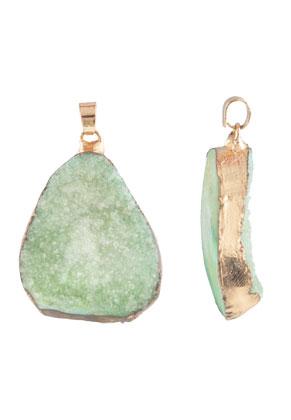 www.sayila.com - Natural stone pendant oval 30-50mm