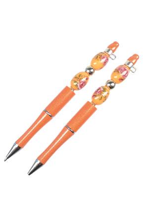 www.sayila-perlen.de - Kunststoff Kugelschreiber einschließlich Perlen 14,5x1,6cm