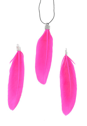 www.sayila.com - Charm feather 7-7,5x2cm
