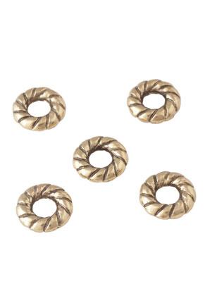 www.sayila.nl - Metalen kraal rondel 10mm
