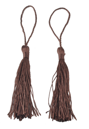 www.sayila.com - Textile tassel 13,5x2cm