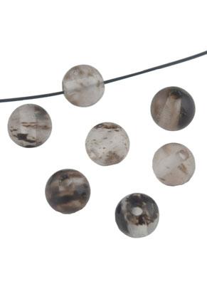 www.sayila.nl - Natuursteen kraal 'Black berry quartz' 4mm