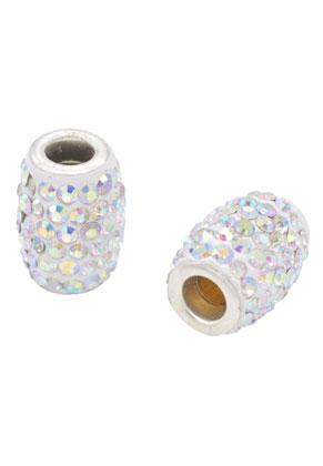 www.sayila.com - Bead oval with strass 16x13mm