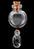www.sayila.nl - Glazen mini flesje 28x20mm