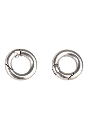 www.sayila.com - DoubleBeads EasyClip metal clasp/connector ring 16x3,6mm