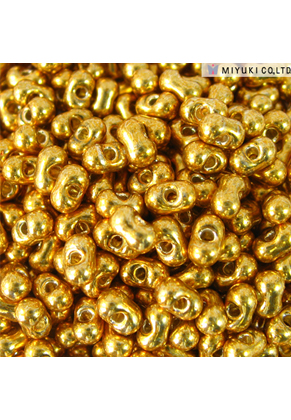 www.sayila.nl - Miyuki Berry Beads Glas rocailles/borduurkralen ± 4,5x2,5mm (± 45 st.) - BB-4202 Duracoat Galvanized Gold