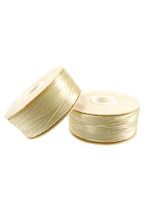 www.sayila.nl - Nymo Beading Thread/ nylondraad D, ± 0,3mm dik (64 Yard, ± 58,5 m)