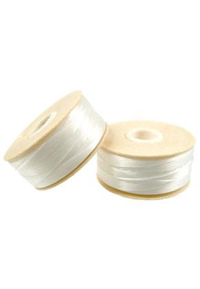 www.sayila.com - Nymo Beading Thread/ nylon thread D, ± 0,3mm wide (64 Yard, ± 58,5 m)