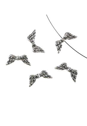 www.sayila.nl - Metalen kraal vleugels 19,5x9mm