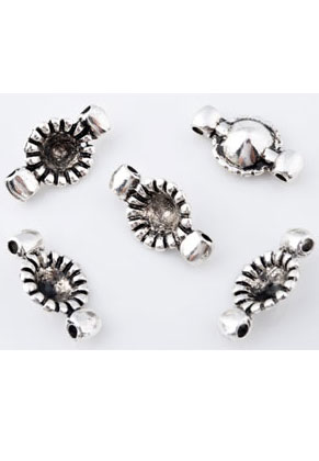 www.sayila.com - Metal pendants/connectors/dividers 25x14mm with setting for pointed back 8mm
