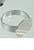 www.sayila.nl - Metalen vingerring, voor 15mm plaksteen rond (in maat verstelbaar >= 16 = 56mm = Ø 18mm)